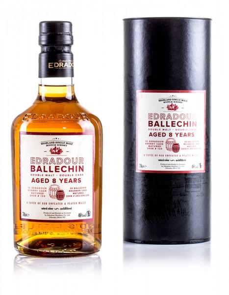 Edradour Ballechin Double Malt - Double Cask 8 Jahre