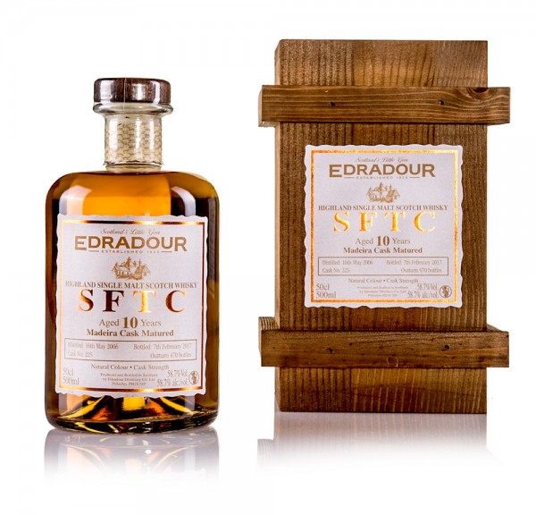 Edradour 10 Jahre STRAIGHT FROM THE CASK (Madeira Cask)