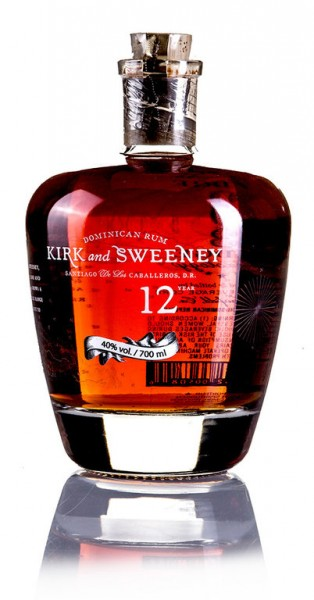 Kirk and Sweeney 12 Jahre Dominican Rum