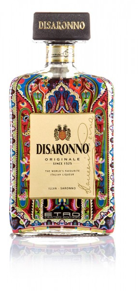 Disaronno Wears Etro Amaretto Likör