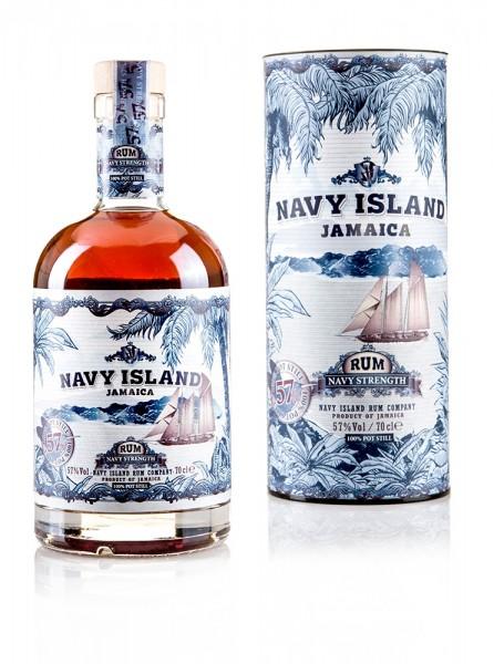 Navy Island Navy Strength 57%vol.