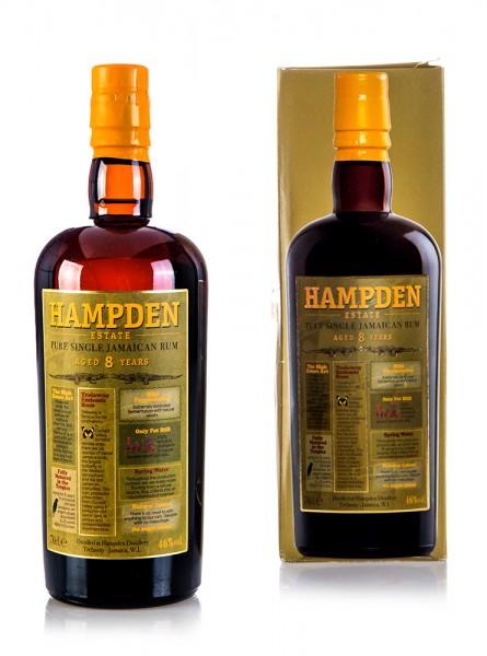 Hampden Pure Single Jamaican Rum 8 years