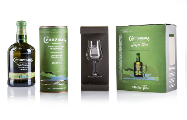Connemara Pleated including nosing glass in gift box