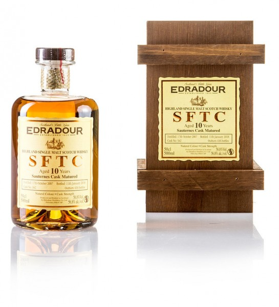 Edradour 10 Jahre Straight from The Cask (Sauternes Cask)