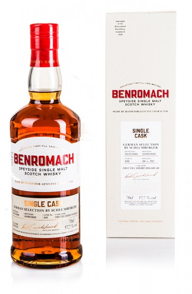 Benromach Single Cask German Selection by Schlumberger 2008/2020