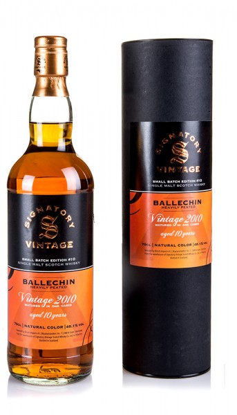 Ballechin 10 Jahre 2020 Signatory Small Batch #10