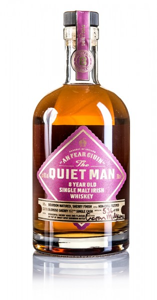 The Quiet Man 8 Jahre Irish Whiskey Single Cask for Germany (Sherry)