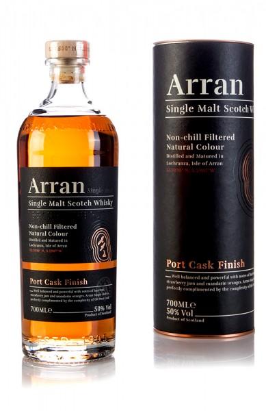 The Arran Port Cask Finish - Neues Design