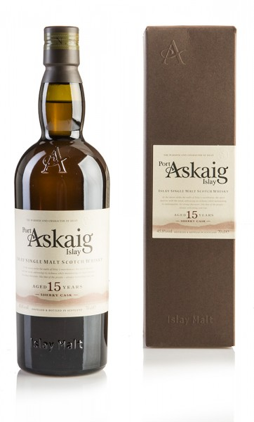 Port Askaig 15 Jahre - First Fill Sherry Butts