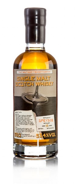 Speyside Distillery 15 Jahre Batch Nr. 1 - That Boutique-Y Whisky Company