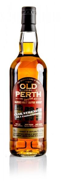 OLD PERTH Sherry Cask Matured Blended Malt Scotch Whisky Cask Strength