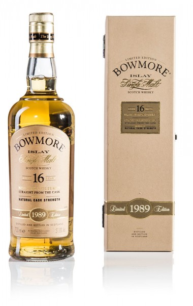 Bowmore 1989 - Bourbon Matured