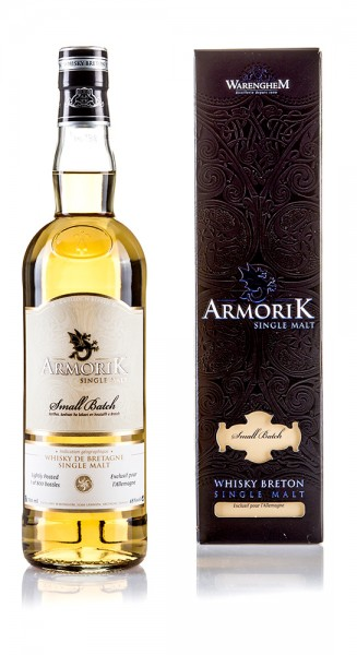 Armorik Single Malt Whisky Small Batch Lightly Peated for Germany