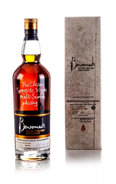Benromach 2011 German Selection By Schlumberger 59,2%