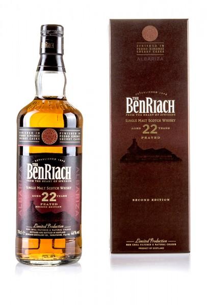 BenRiach 22 Jahre Albariza Second Edition