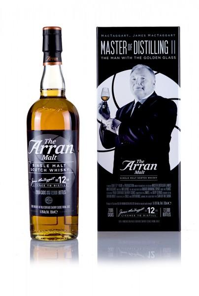 The Arran Malt Master of Distilling 2