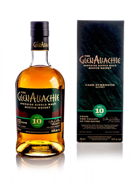 GlenAllachie 10 Jahre Cask Strength Batch 2