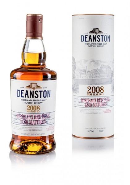 Deanston 2008 Bordeaux Red Wine 9 Jahre