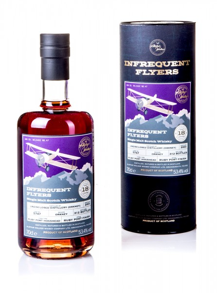 Undisclosed Distillery (Orkney) 2003/2021 Alistair Walker Company - Infrequent Flyers