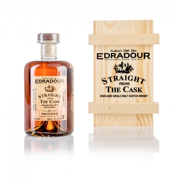 Edradour 10 Jahre STRAIGHT FROM THE CASK (Sherry)