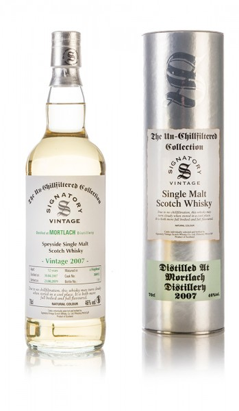 Mortlach Signatory Vintage 2007 Un-Chillfiltered Collection