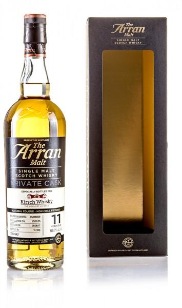 The Arran 2005/2017 11 Y. Private Single Cask