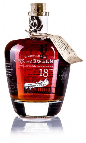 Kirk and Sweeney 18 Jahre Dominican Rum
