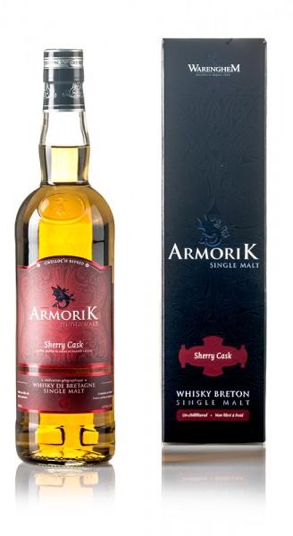 Armorik Single Malt Whisky Sherry Cask